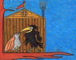 Merel en Mus, Reeks Storm, teksten van Eliane De Bleser, illustraties van Reinhart 'Reinzwein' Van Praet