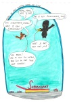Merel en Mus, 'De Supermarkt', illustraties Bob Torfs