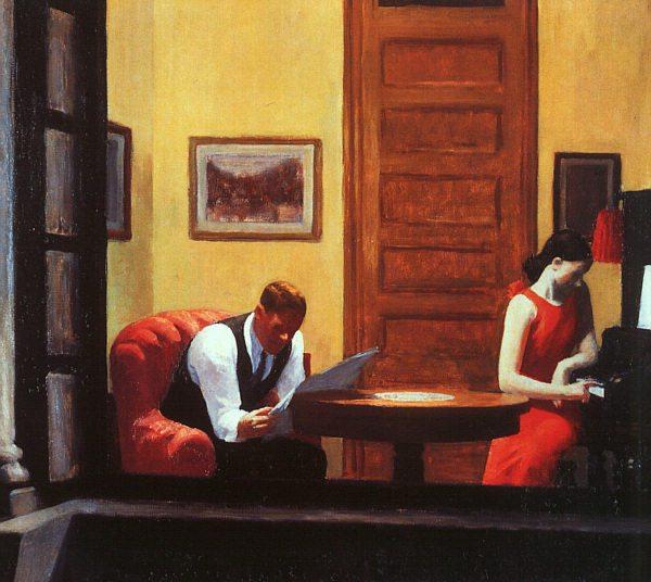 room in New York 1932 Edward Hopper