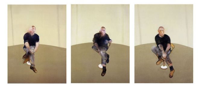 Study for a Self-Portrait ,Triptych, 1985-86, Francis Bacon