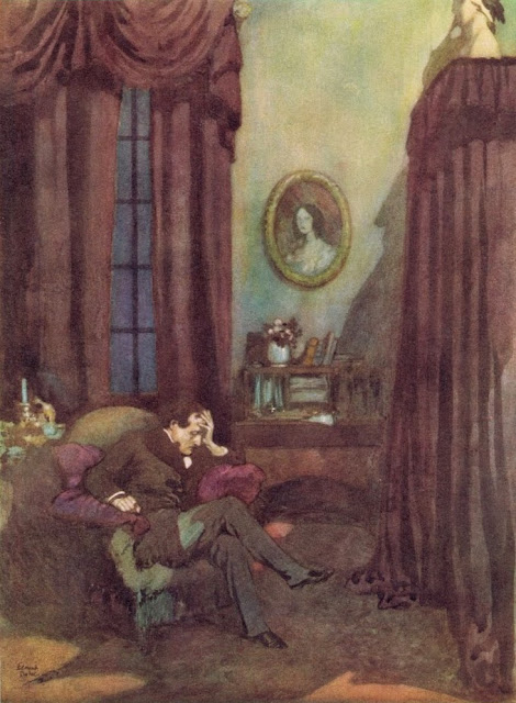 The Raven Edmund Dulac