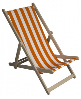 deckchair orange