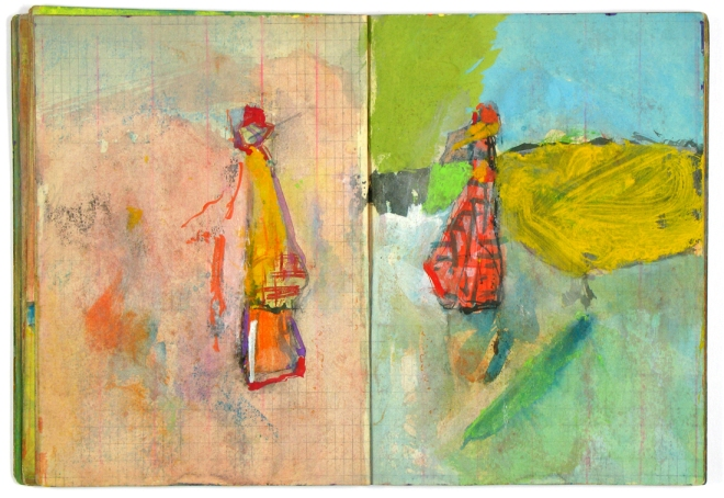 saul leiter sketchbook