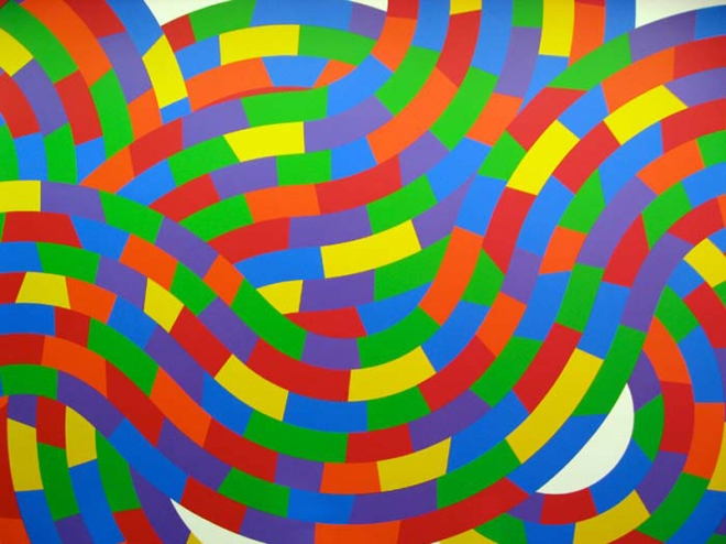 sol lewitt whirls and twirls