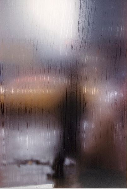 saul leiter wet window