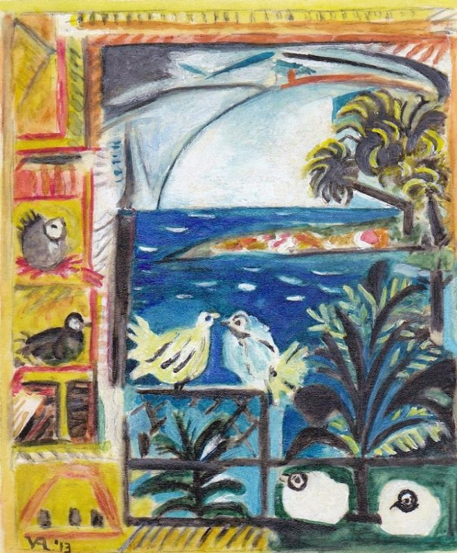 PICASSO PIGEONS