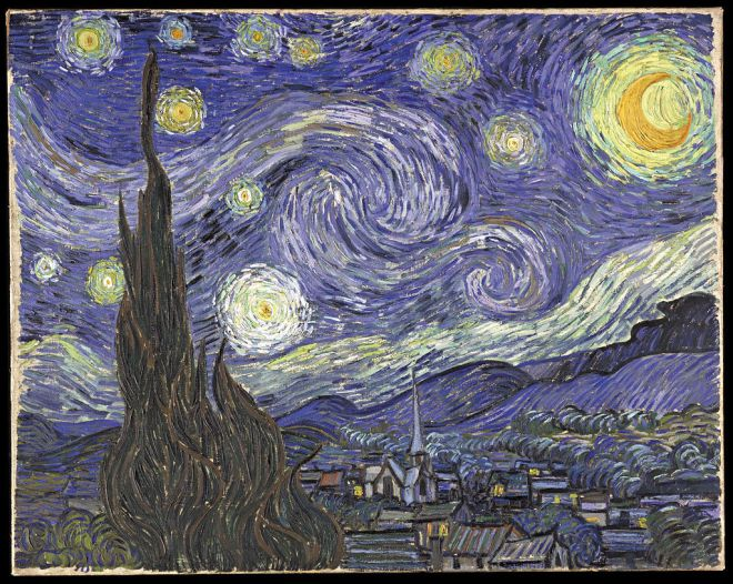 van gogh sterrennacht