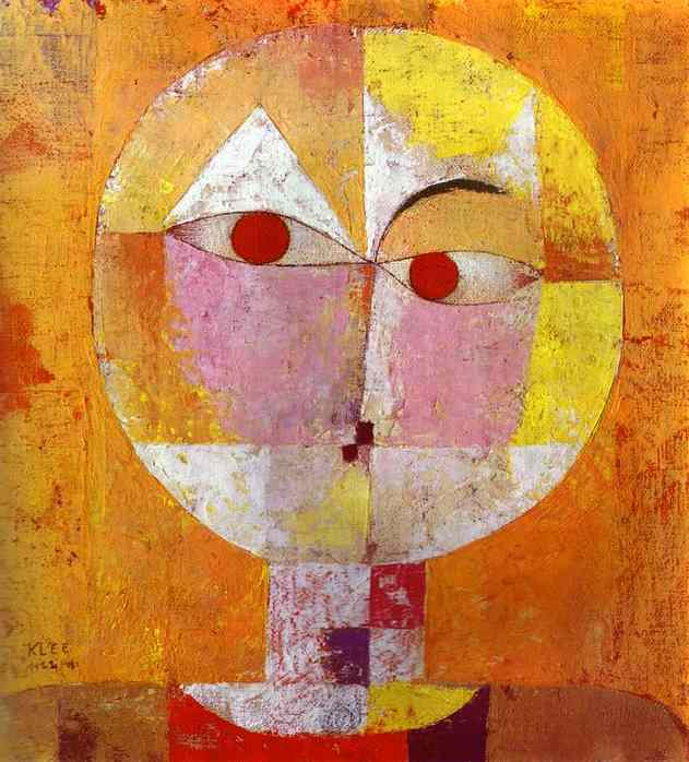 Paul Klee Senecio-1922