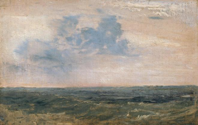 Study of Sea and Sky, Isle of Wight 1827 Joseph Mallord William Turner 1775-1851 Accepted by the nation as part of the Turner Bequest 1856 http://www.tate.org.uk/art/work/N02001